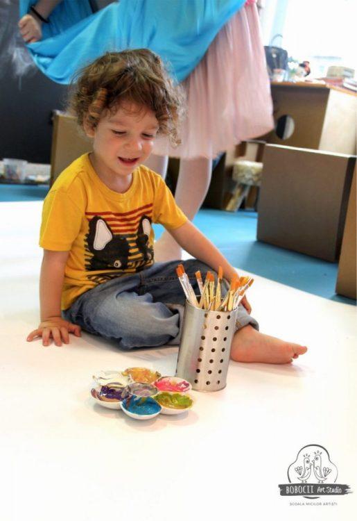 Primul Art Party la Bobocii Art Studio!